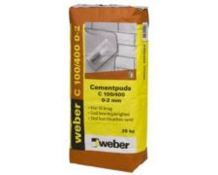 Cementpuds 0-2mm 25kg