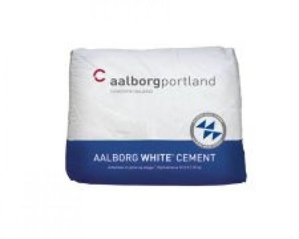 Aalborg Portland Hvid Cement 25kg