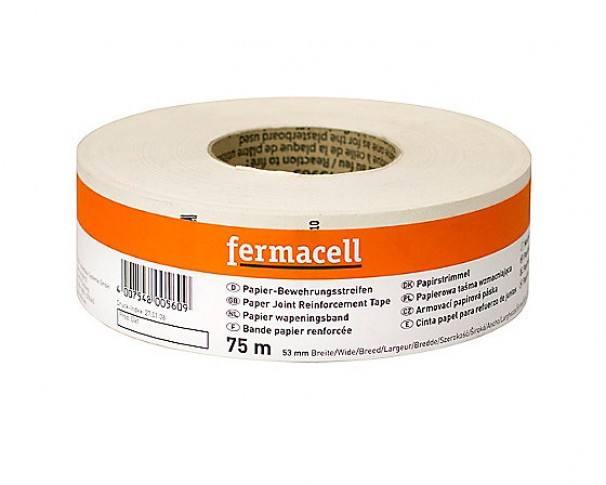 Armeringsbånd Fermacell papir 53mmx75mtr
