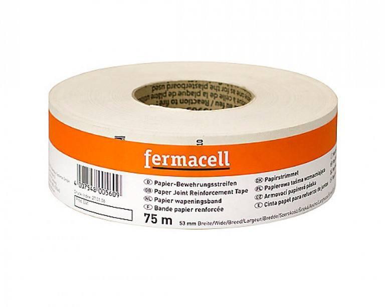 Armeringsbånd Fermacell papir 53mmx...