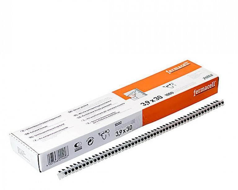3,9x30mm Fermacell fibergipspladesk...