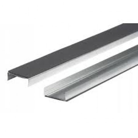 Fermacell stålskinne 0,6x100x4000mm