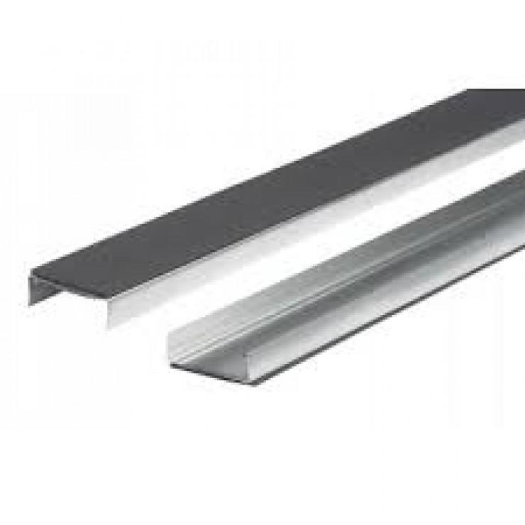Fermacell stålskinne 0,6x75x4000mm