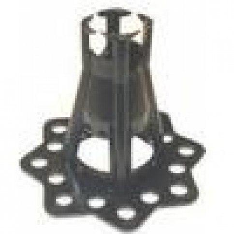 Afstandsholder 25/30mm i plast (elefantfod)