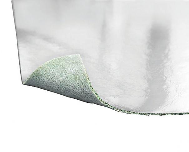 Silent ECO underlag med dampspærrer RL/7m2