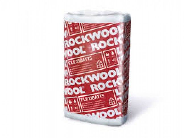 Rockwool Flexibatts 570x980mm FINDES I FLERE TYKKELSER