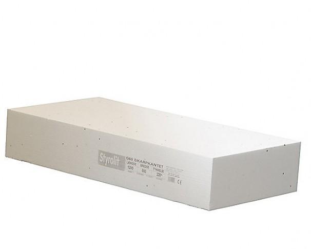 Styrolit gulvplade G60 600x1200mm FINDES I FLERE TYKKELSER