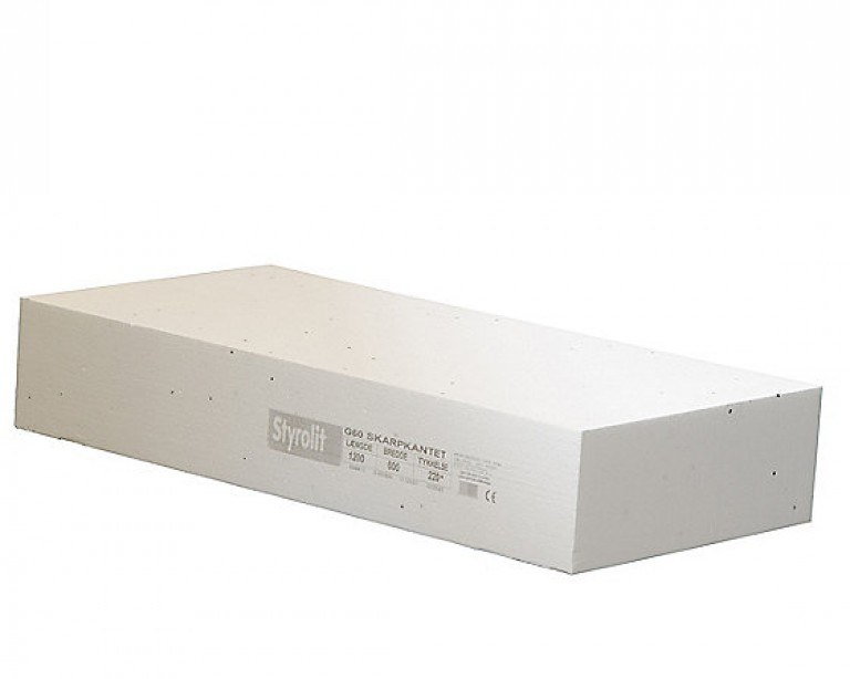Styrolit gulvplade G60 600x1200mm F...