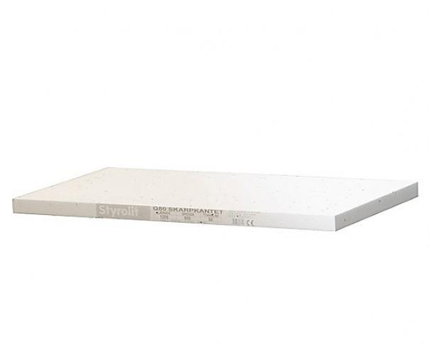 Styrolit gulvplade G80 600x1200mm FINDE I FLERE TYKKELSER