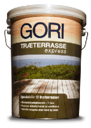 Gori træterrasse Express 5ltr.