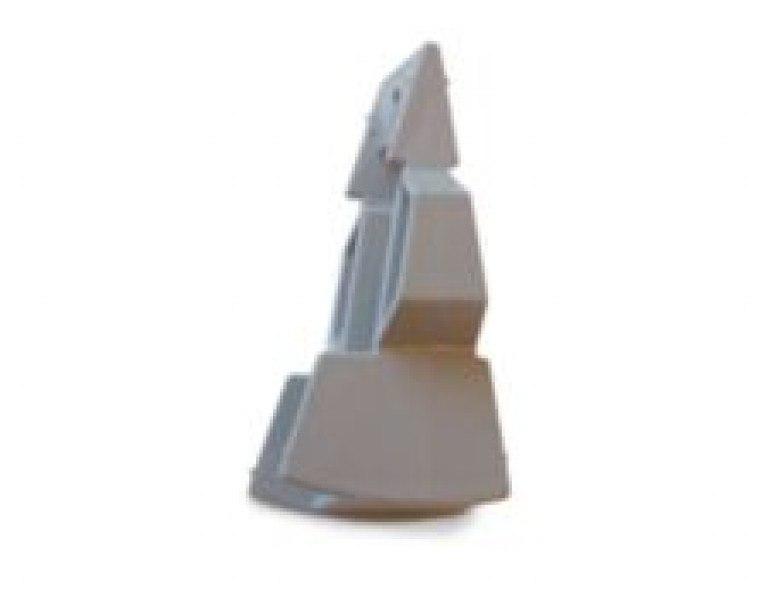 Plastmo trekantkile GRÅ