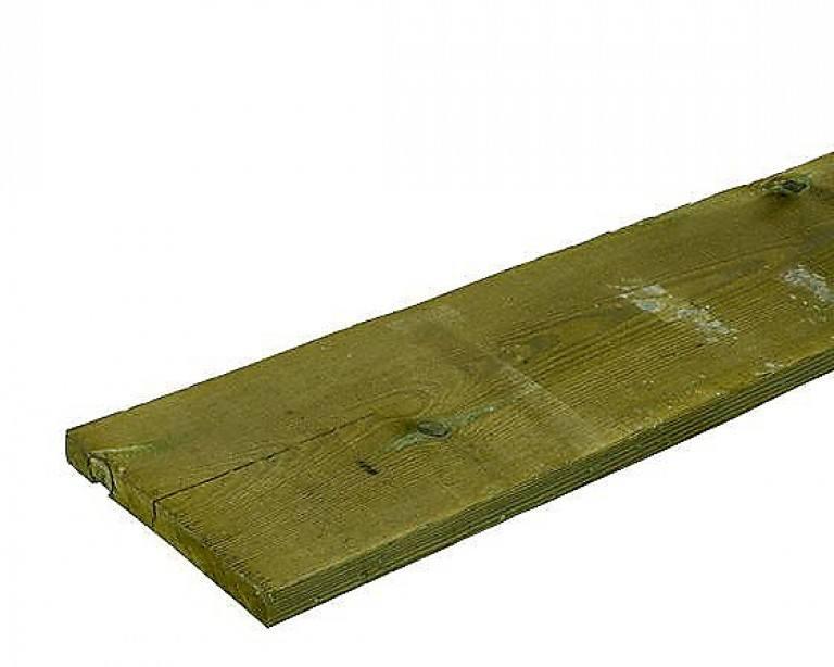Køb trykimprægneret træbeklædning og brædder