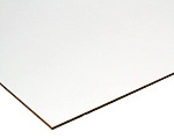 Spånplade melamin Hvid 16x1220x2500mm