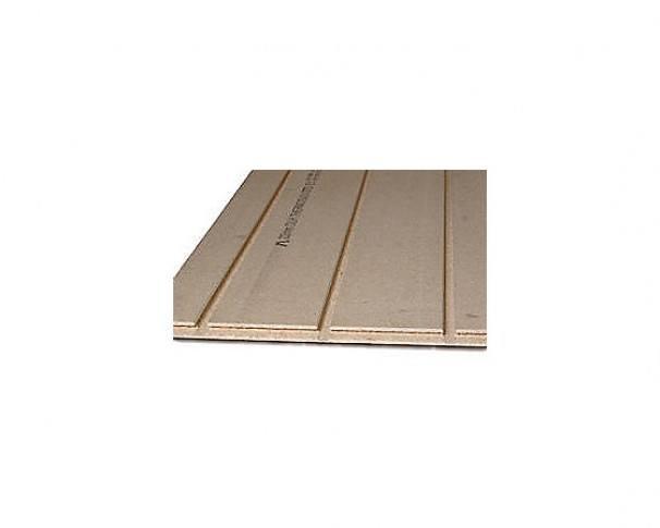 Thermogulvspånplade 22x620x1820mm til gulvvarme