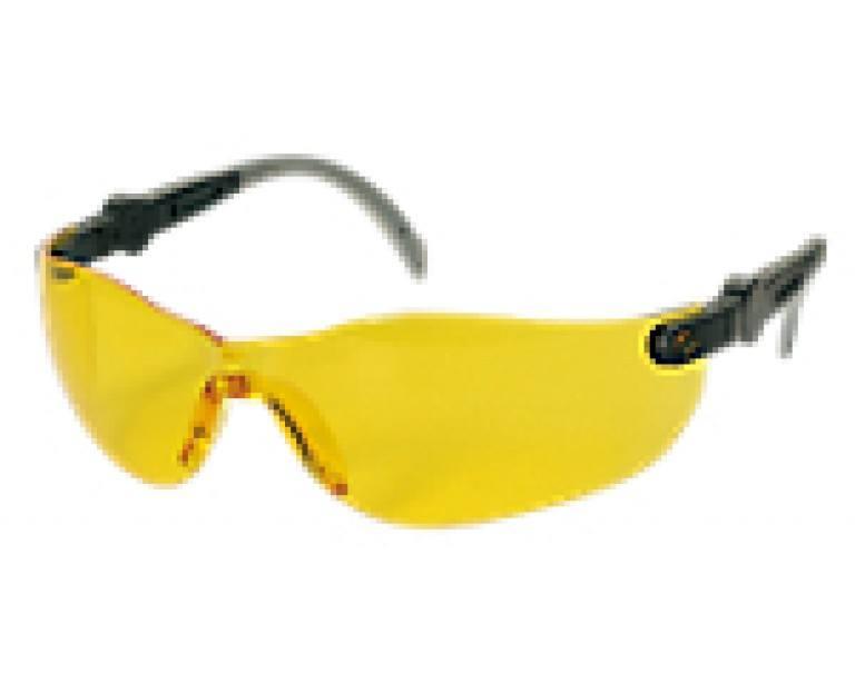 Sikkerhedsbriller m/ gult glas