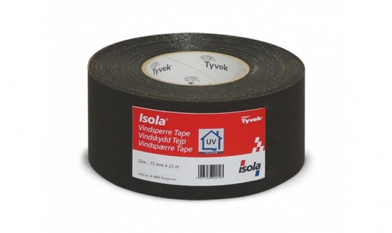 Vindspærretape Isola UV 75mm x 25mt...