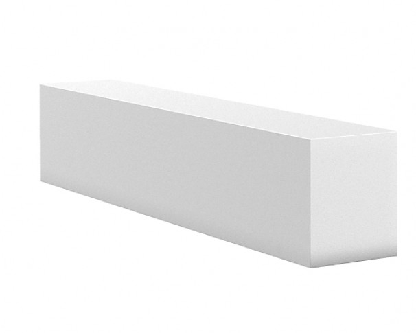 H+H overligger 10x26cm IKKE BÆRENDE. Findes i flere længder